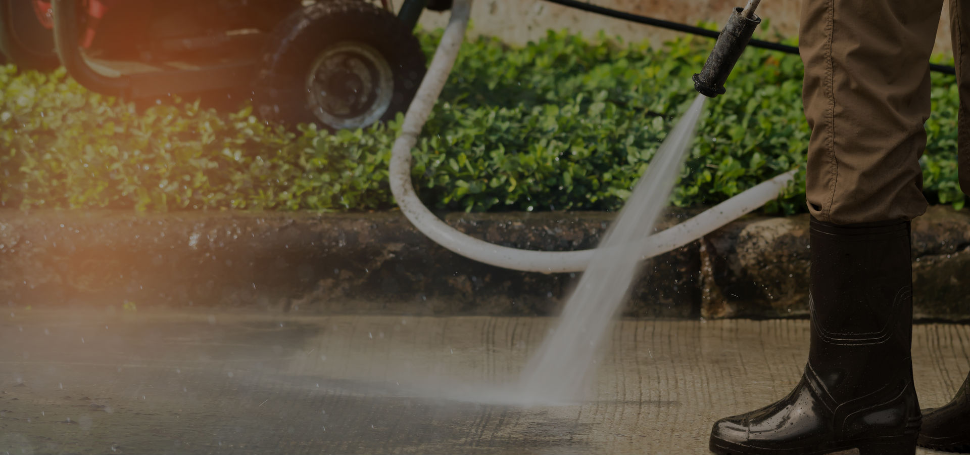 High Pressure Commercial Jet Washing